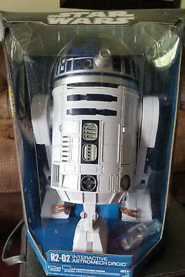 STAR WARS  R2-D2 Interactive Astromech Droid Robot NEW SEALED