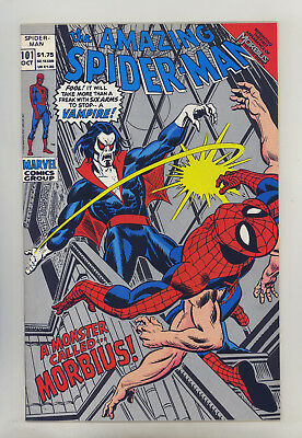 Amazing Spider-Man #101 (Silver 2nd Prt) FN Kane, 1st Morbius The Living Vampire