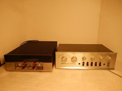 Vintage Dynaco PAT-4 Stereo Preamplifier & Dynaco Stereo 120A Amplifier Works