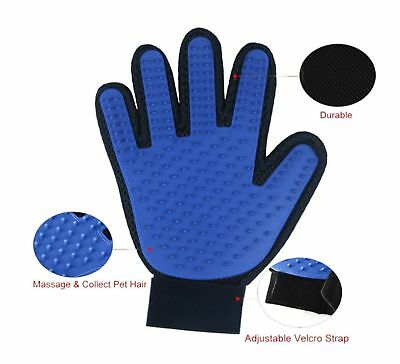 Product Description:  This Deshedding Gloves remove loose hair and gently massag