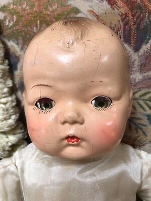 Vintage Madame Alexander composition baby doll