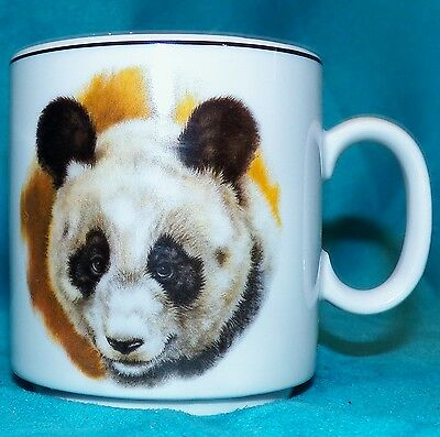 Vintage 1950 J W K Bavaria Germany Panda Bear Bavarian China Coffee Tea Cup Mug