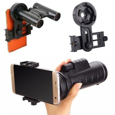 1 x Telescope Cell Phone Adapter Mobile Mount Universal Spotting Scope Binocular