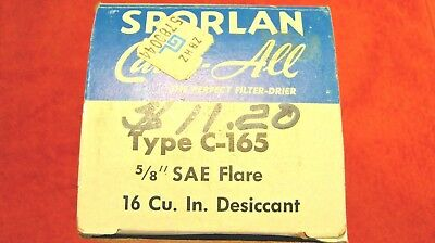[ 2 ]  SPORLAN Catch All  C-165  5/8 in SAE Flare - Filter-dryers