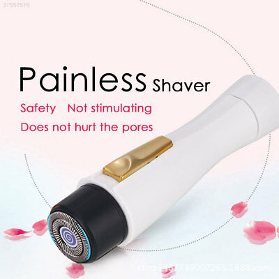 Electric Shaver Epilator Remover SS17 Oxter Women Fashion Portable ABS White
