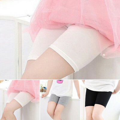 Baby Girls Modal Short Pants Leggings Stretchy Under Skirt Safety Shorts Pants