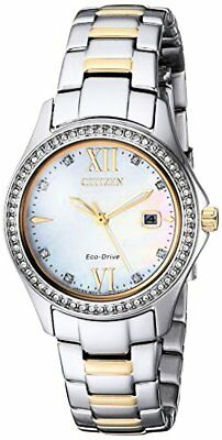 Citizen Watch Company Womens Quartz Stainless Steel Casual Watch, Color