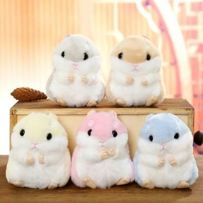 Hot Lovely Plush Cartoon Small Hamster Car Toy Doll Key Chain Stuffed Mouse Toys