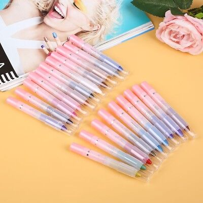 White Pearl Eyeliner Pen Smooth Eye Liner Pencil Eye Shadow Makeup Natural E655