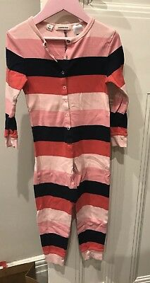 COUNTRY ROAD Kids Striped Cotton PJs - Size 4