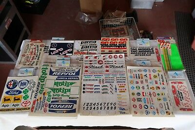 Decal Sheets for Radio Control Model Cars and Trucks