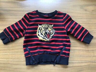 BARDOT Baby Tiger Stripe Sweater Size 00 (Current Collection)