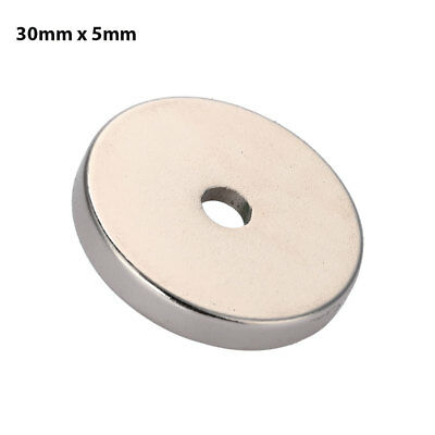 30*5mm Household House Rare Earth Magnets Powerful Gadgets Fridge Home DIY FEEE