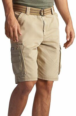 a17809b0cd LEE MEN'S DUNGAREES Belted Wyoming Cargo Military Shorts Size 34 ...