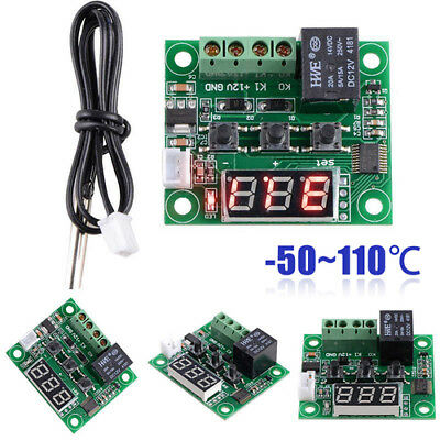 -50-110°C 12V W1209 Digital thermostat Temperature Control Switch Sensor Module