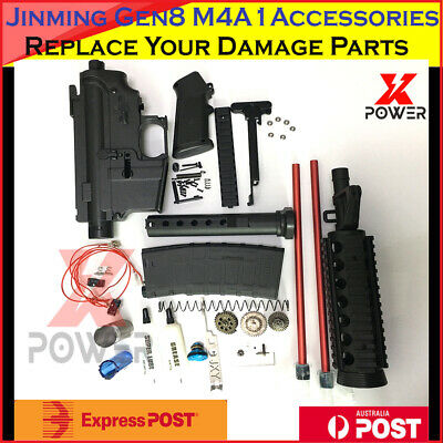 2019 Gearbox Upgrade Parts Gel Ball Blaster JinMing J8 Gen8 M4A1 Metal 7-8mm OZ!