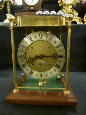 Rare limited Twaites & Reed Spheroid weight driven novelty mantel clock