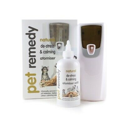 Pet Remedy Atomiser Unit 250ml Calming Relief Spray For Dogs Cats Small Animals