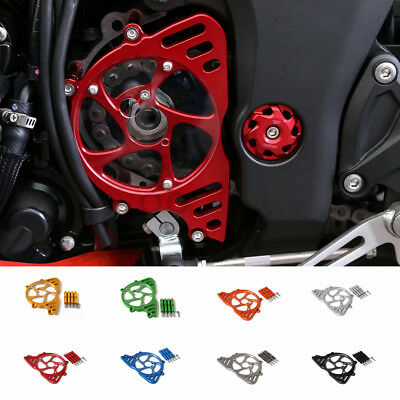 Anodized Motorcycle Front Sprocket Chain Guard Cover For KAWASAKI Z1000 10-2017