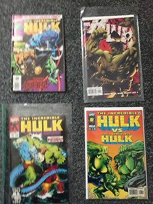 4 Mint Condition The Incredible Hulk Comics