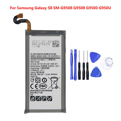New Genuine OEM Battery Replacement for Samsung Galaxy S8 SM-G9508 Brand New