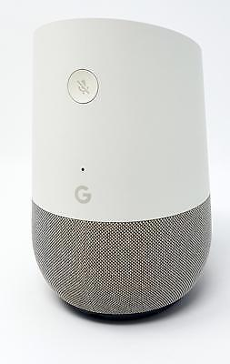 Google Home Smart Lautsprecher Sprachassistent WLAN Speaker Bluetooth Box Weiß
