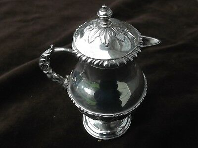 1769 small very pretty Georgian George 111 lidded Ewer by William Vincent