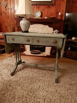 Antique Sofa/Hall Table