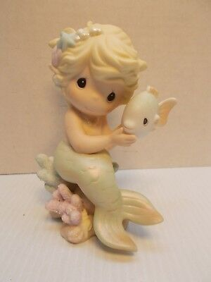 "Precious Moments Mermaid ""I'm Filled With Love For You"" Sea Of Friendship HTF c"