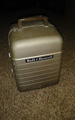 Vintage Bell & Howell Model 253-A 8mm Movie Film Projector w/Case WORKS GREAT!!