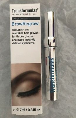 Transformuls Brow ReGrow Serum 7ml (Over Plucked) - Boosts Brows & Definition