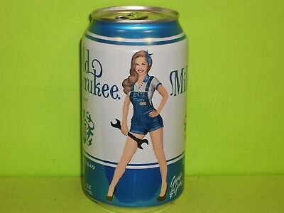 Old Milwaukee Light Pin Up Girls (NEW)  Beer Can  by SCHLITZ, WI