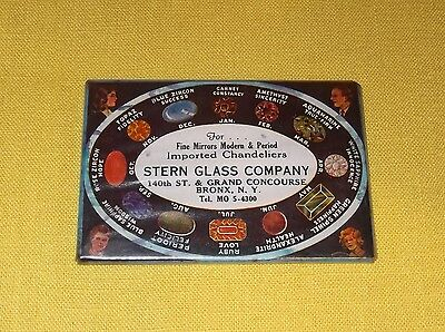 Antique Advertising Pocket/purse Mirror Stern Glass Company