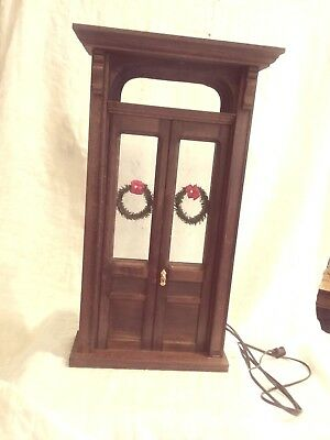 Fancy Door Display Accessory Perfect For Byers Choice Carolers- Pre-Owned