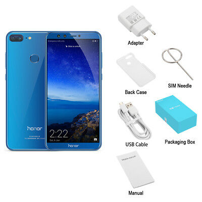 "Téléphone Huawei Honor 9 Lite 5.65"" 4G Android8.0 OctaCore 3+32GO 4*Cam Touch ID"