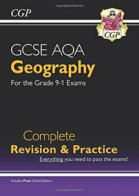 New GCSE 9-1 Geography AQA Complete Revision & Practice (w/ Onli... by CGP Books