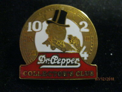 "Dr Pepper ""old Doc"" 10-2-4 Collectors Club Pin"