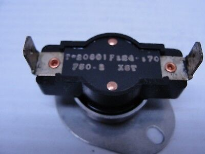 Klixon Thermal Switches T-20601F124-170  750-1 X6T.