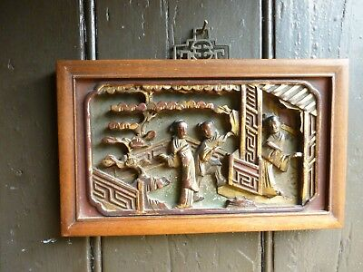 Carved chinese panel / picture