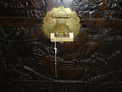 Chinese Camphor Wood Chest