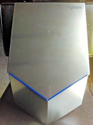 DYSON AIRBLADE V Hand Dryer AB12 ( HU02 )~Sprayed Nickel, EXCELLENT CONDITION