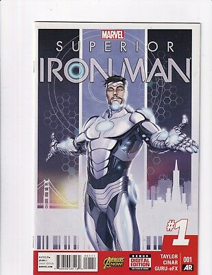 Superior Iron Man #1 (Marvel 2015)