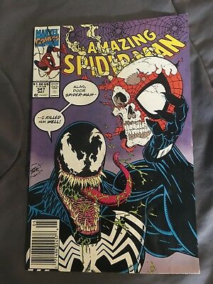 The Amazing Spiderman #347 Marvel Copper Age