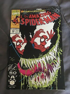 The Amazing Spiderman #346 Marvel Copper Age