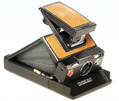 Polaroid  SX-70  Land Camera  Model 3  schwarz