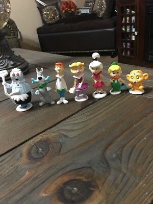 Hanna Barbera The Jetsons Vintage Applause PVC 7 Figure Lot Set 1990 NOS New