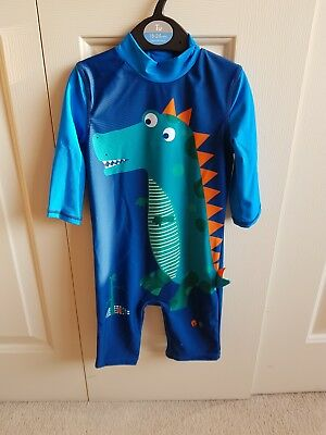 Brand new with tags TU boys dinosaur swimsuit - Age 18-24 months