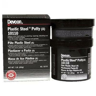Devcon Plastic, Steel Epoxy Putty 1 Pound