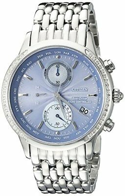 Citizen Watch Company Eco-Drive Womens World Chronograph A-T