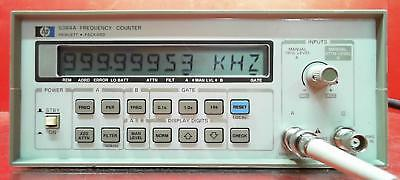 HP - Agilent - Keysight 5384A Frequency Counter SN:2436A02122